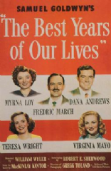 The Best Years of Our Lives 1946 DVD - Myrna Loy / Fredric March